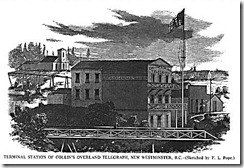 Columbia Hotel-New Westminster 1865