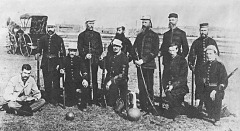 New Westminster Rifles 1884