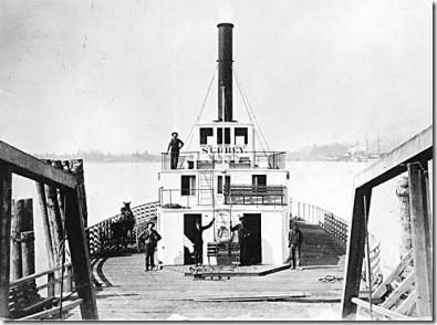Ferry Steamer Surrey new