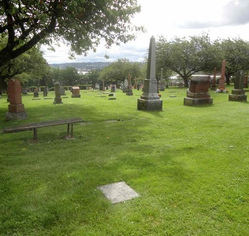 Murdoch Morrison stone Fraser Cemetery
